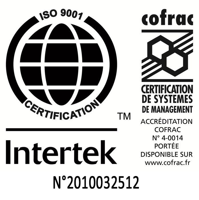 Logo de certification Intertek